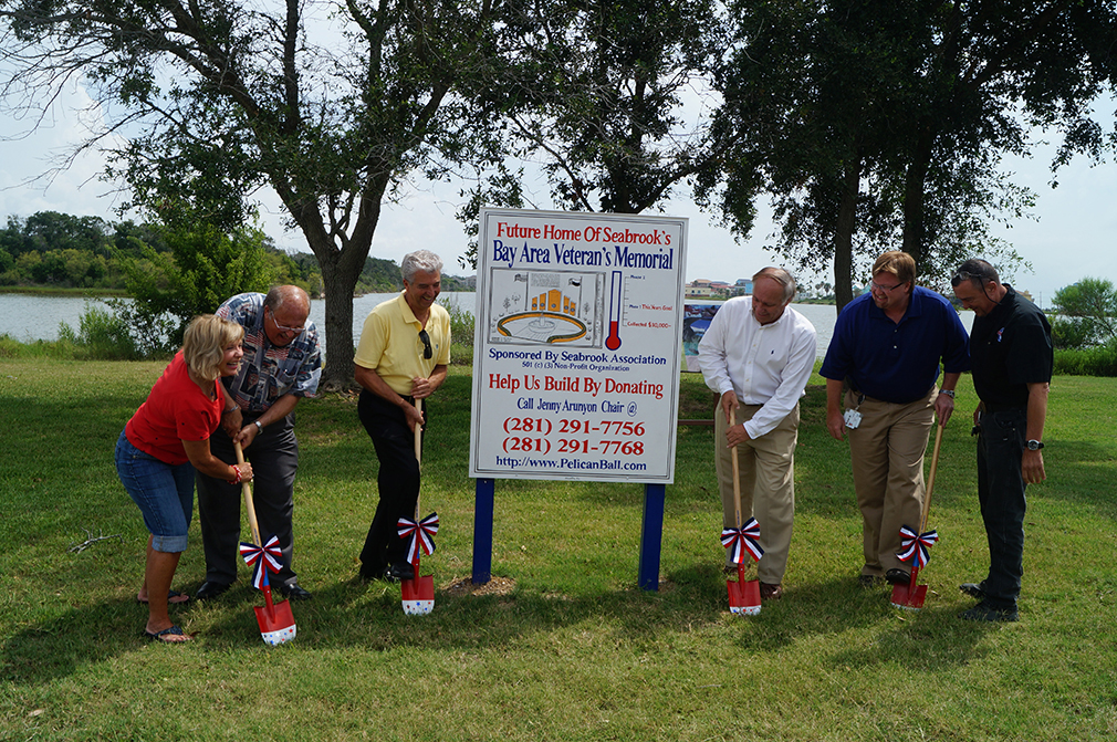 Bay Area Veterans Memorial Ground Breaking